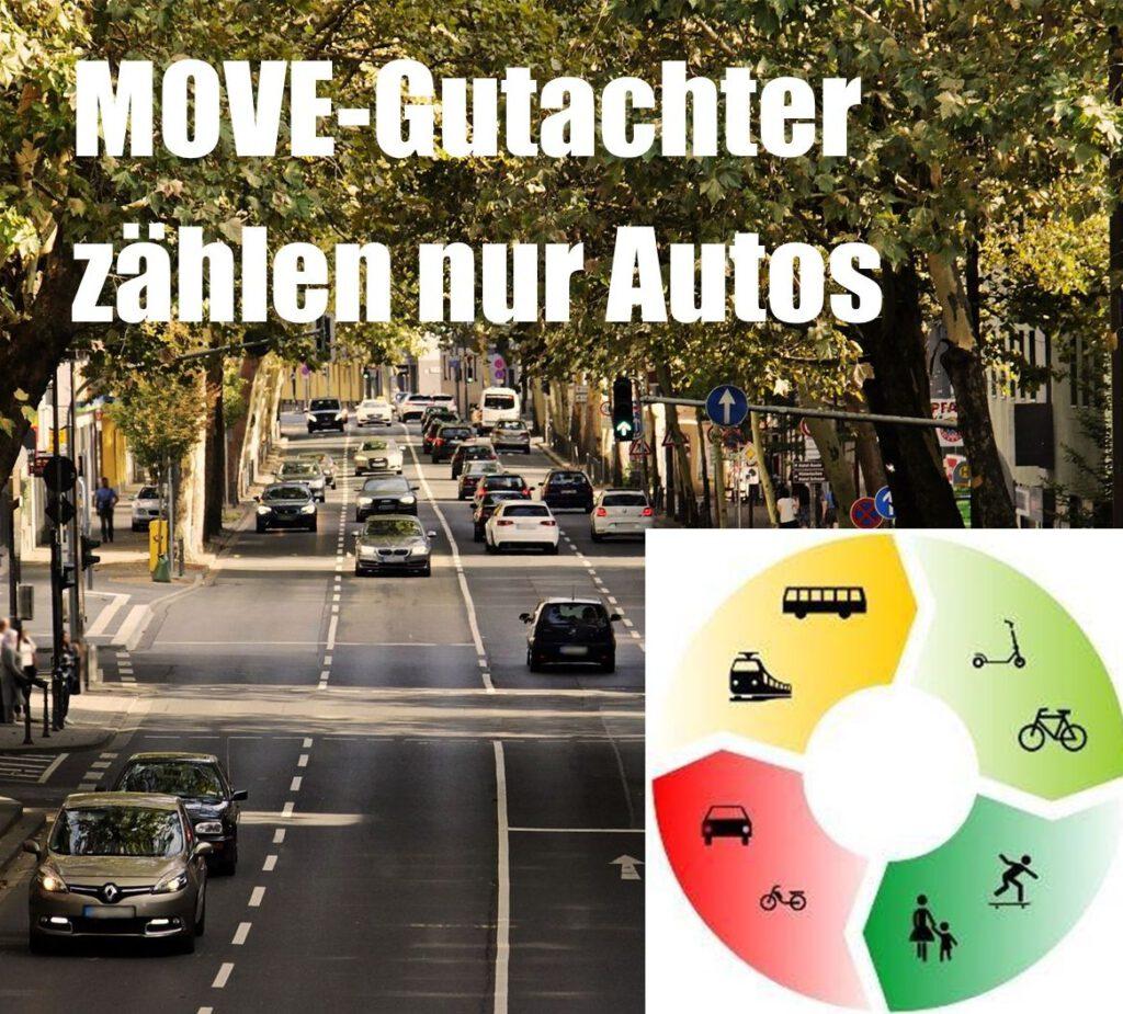 MOVE-Gutachter zählen nur Autos